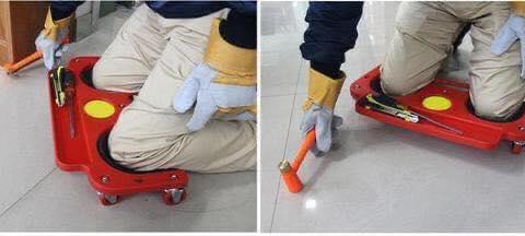 Mobilna potpora za koljena Sa kotacima 1