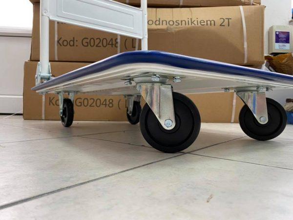 Transportna sklopiva kolica nosivosti do 150 kg